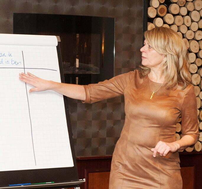 Trainer Petra Fehring voor opleiding Binnen 10 weken een lopend VP bedrijf
